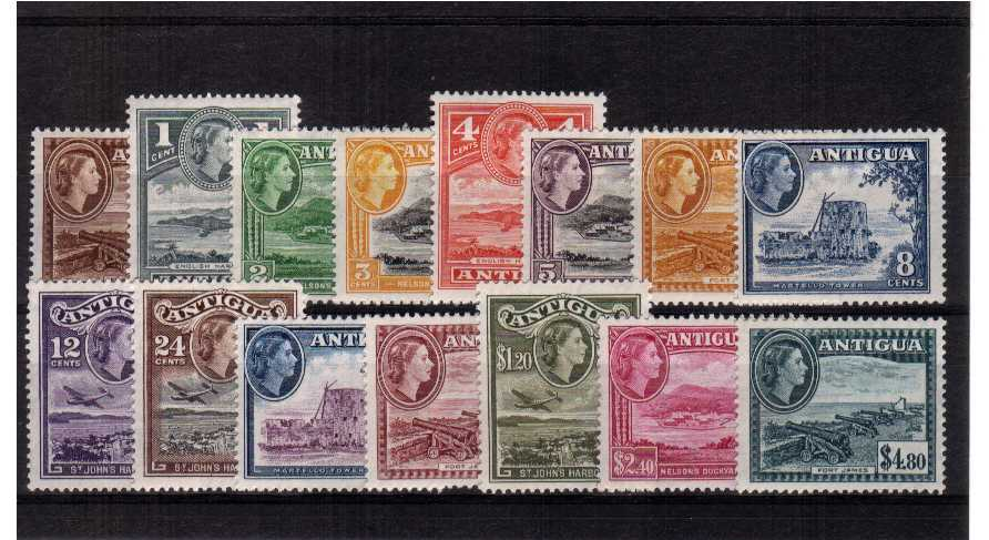 Superb unmounted mint set of fifteen.