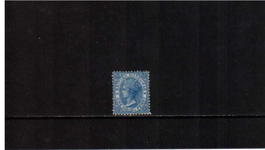1d Pale Blue - Watermark Crown CC - Perforation 12� -lightly mounted mint. SG Cat �