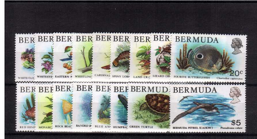 Wildlife set of seventeen very 