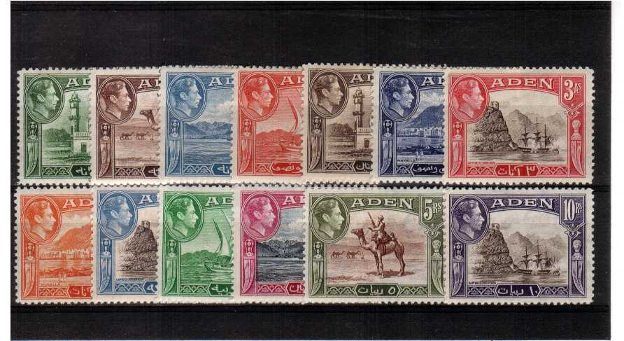 A fine very lightly mounted mint set of thirteen.<br><b>XCX</b>