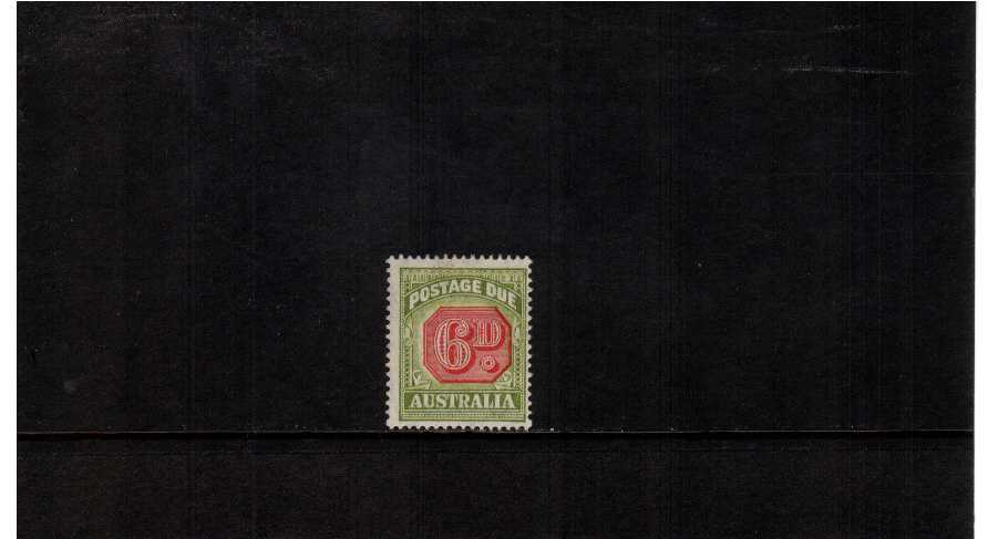 6d Postage Due - a lightly mounted mint single.