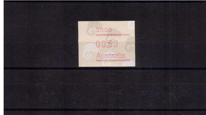39c Possum FRAMA single superb unmounted mint<br/>Issue Date: 28 SEPT 1988