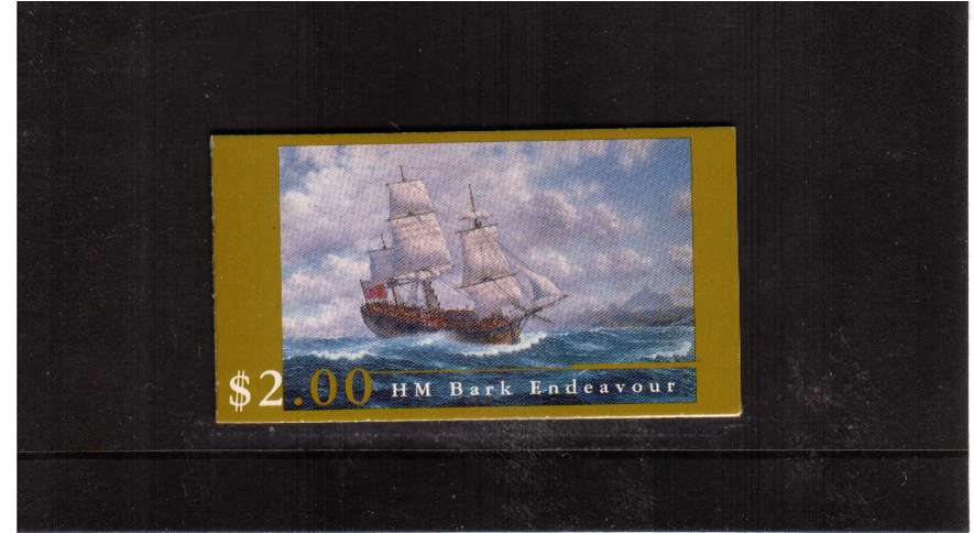 $2.00 ''Endeavour'' Replica Ship complete booklet