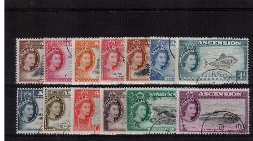 A superb fine used set of thirteen.<br><b>ZKU</b>