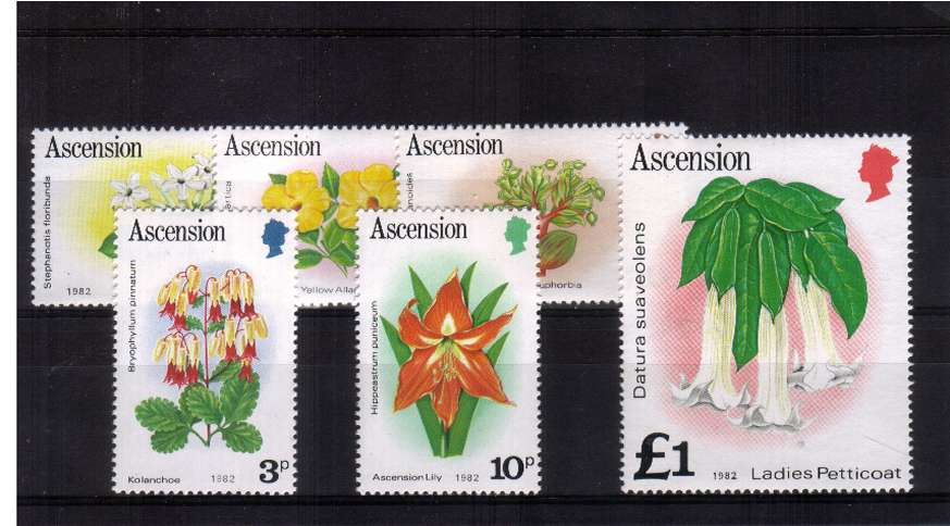 The 1982 Imprint set of six superb unmounted mint.