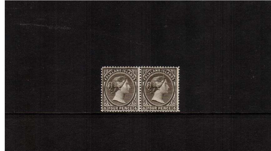 4d Grey-Black - Watermark Crown to Left of CA as seen from the back.<br/>