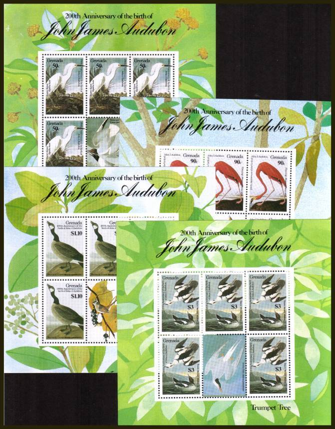John J. Audubon - Birds - 2nd Issue.<br/>
