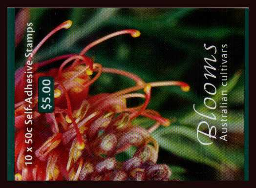 $5.00 Australian Horticulture - Blooms complete unfolded flat booklet