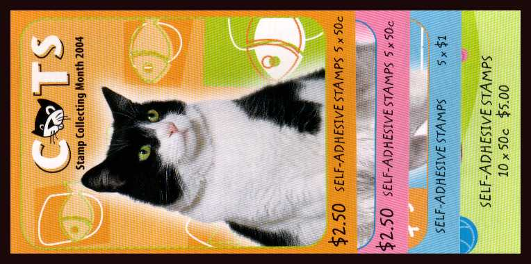$2.50 x2 - $5 x2 Cats and Dogs set of four complete unfolded flat booklets