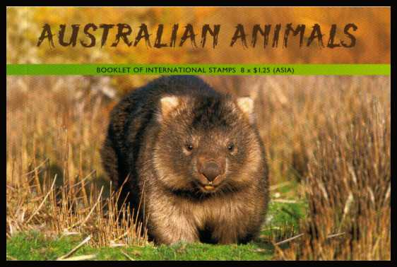 Australian Animals Premium booklet