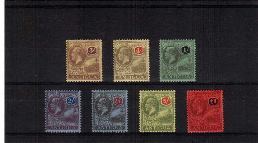A fine lightly mounted mint set of seven.<br/>SG Cat £275.00