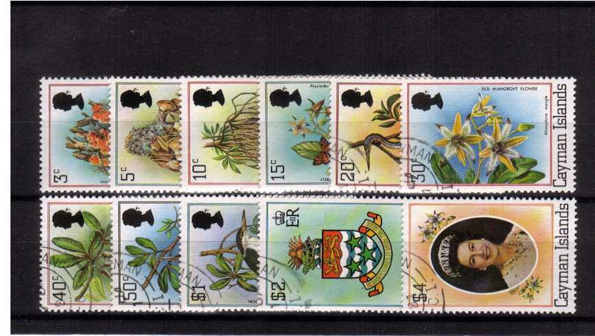 The Flora and Fauna set of eleven superb fine used.
