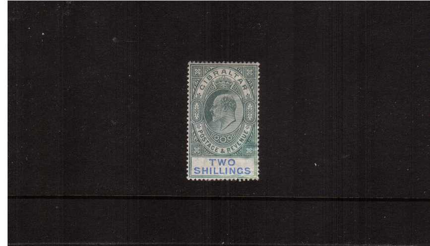 2/- Green and Blue<br/>
