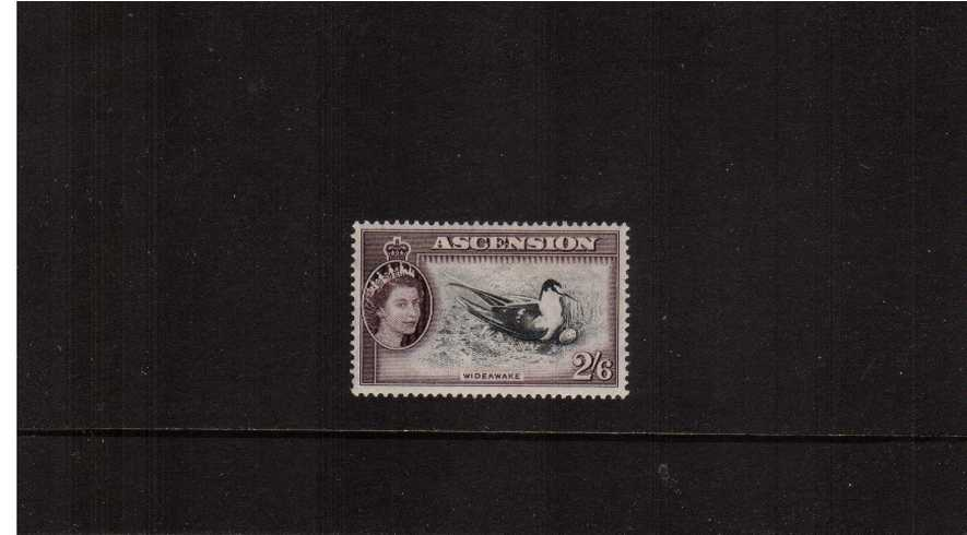 2/6d ''Bird'' definitive odd value fine lightly mounted mint.
