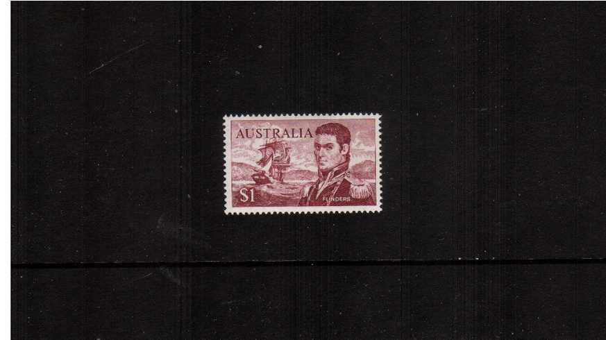 $1 Flinders in Purple Brown<br/>