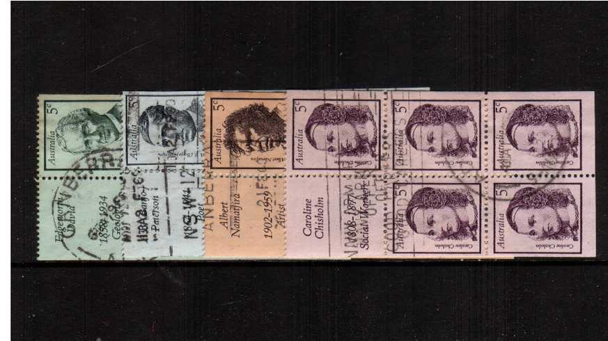 Famous Australians - 1st Series<br/>