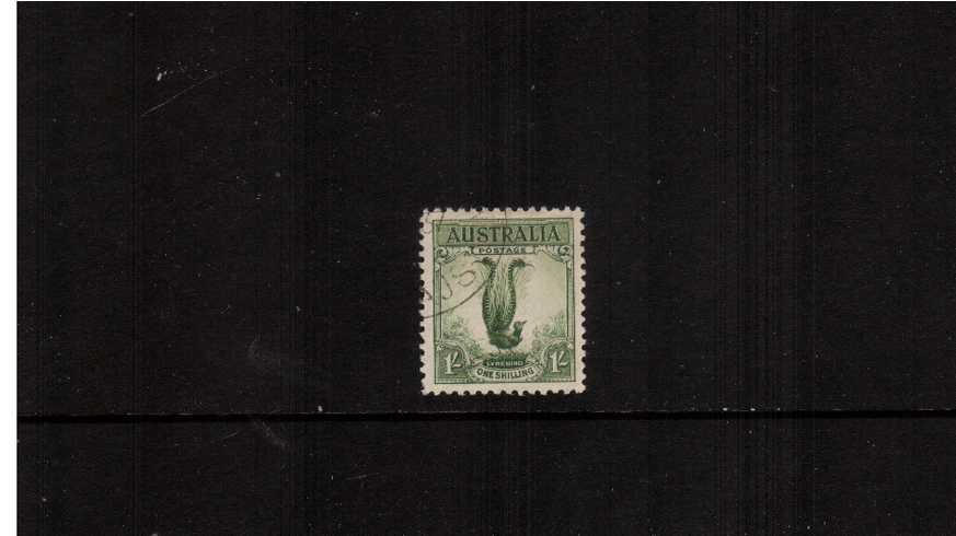 The Lyrebird - 1/- Yellow-Green<br/>