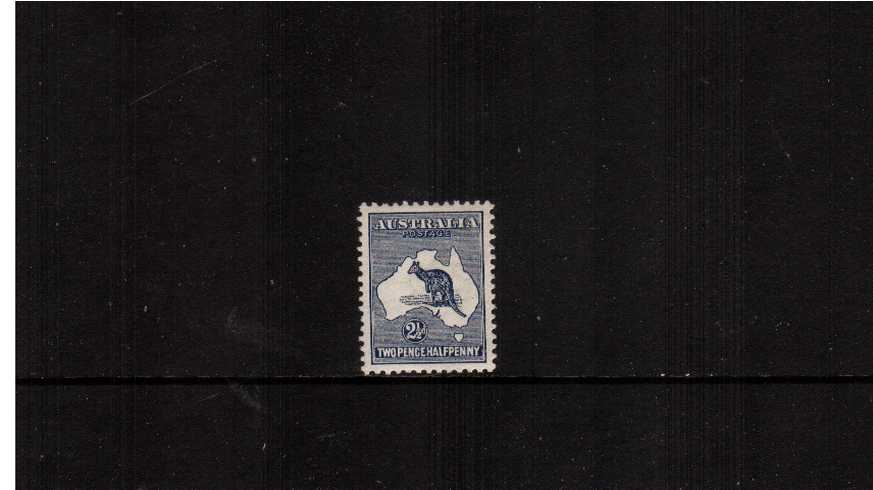 2½d Indigo - Die II<br/>