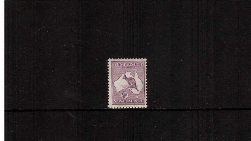 9d Violet - Die II<br/>A fine very lightly mounted mint single