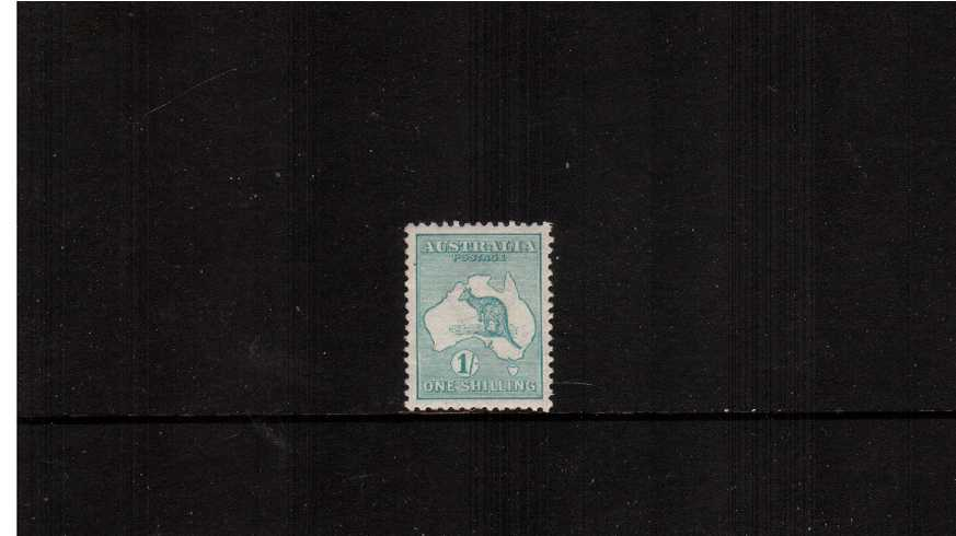1/- Emerald - Die II<br/>A very fine, very lightly mounted mint single.