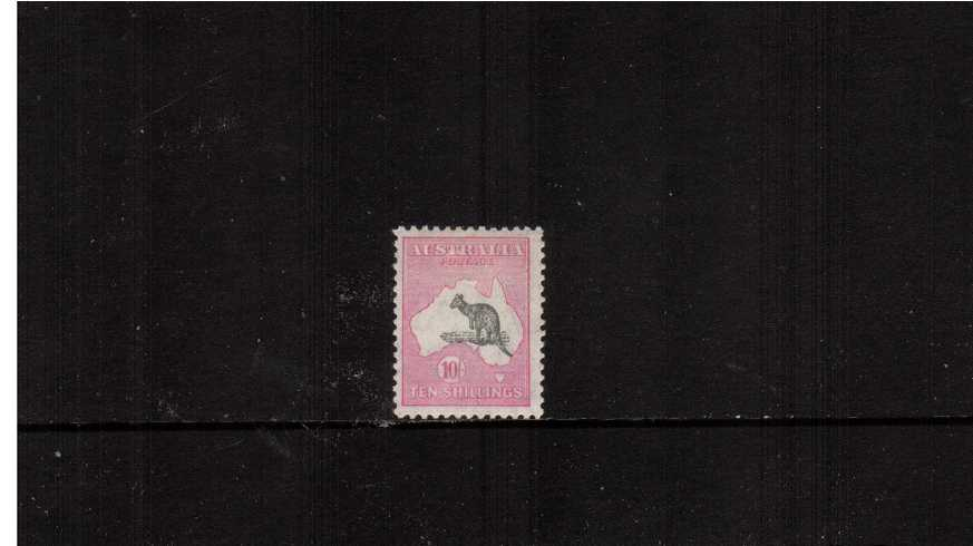 10/- Grey and Pink - Die II<br/>