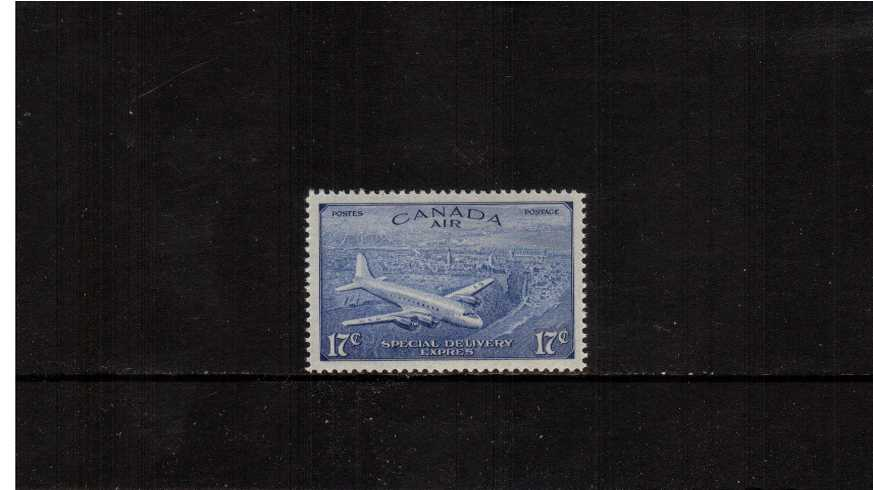 Special Delivery - Air<br/>The 17c stamp superb unmounted mint.
