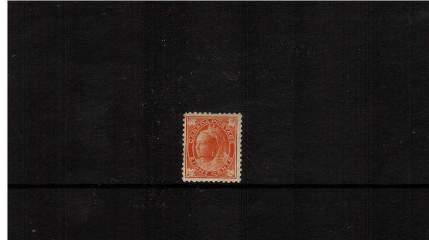 8c Orange ''Maple Leaf'' Issue<br/>