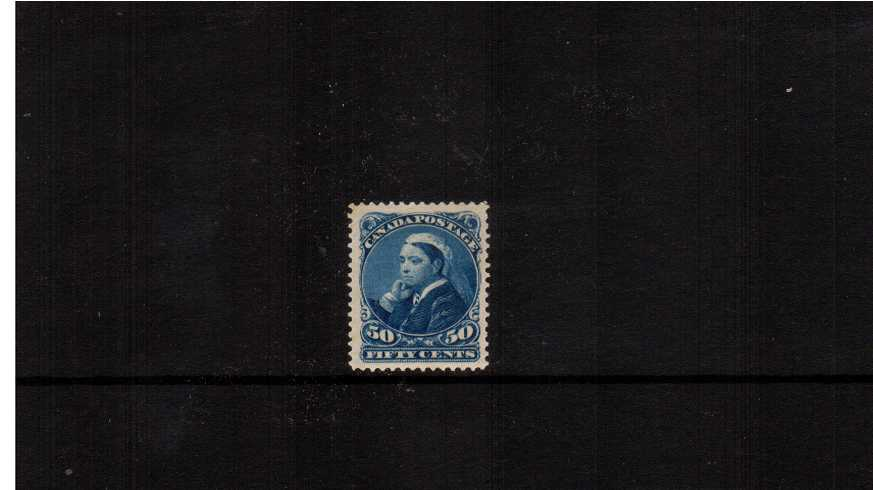 50c Blue ''Old Queen''<br/>