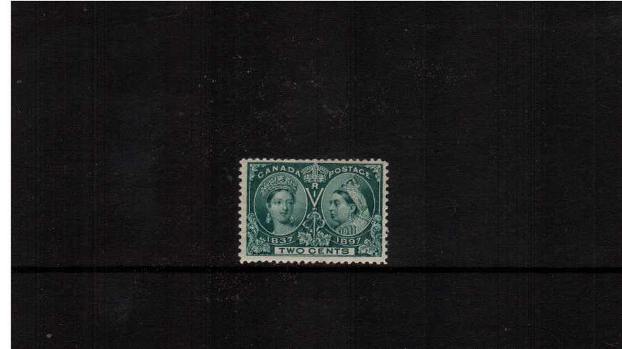 2c Deep Green ''Queen Victoria Jubilee Issue''<br/>