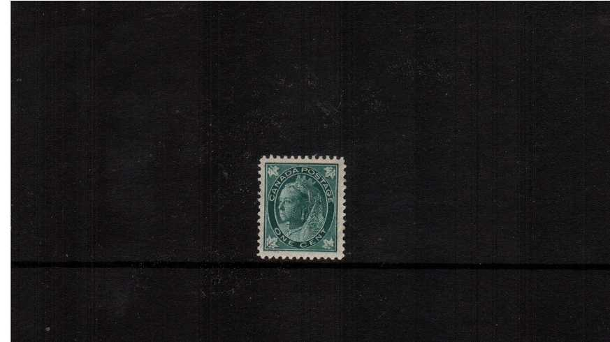 1c Blue-Green ''Maple Leaf'' Issue<br/>