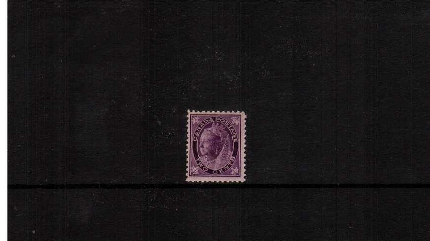 2c Violet ''Maple Leaf'' Issue<br/>