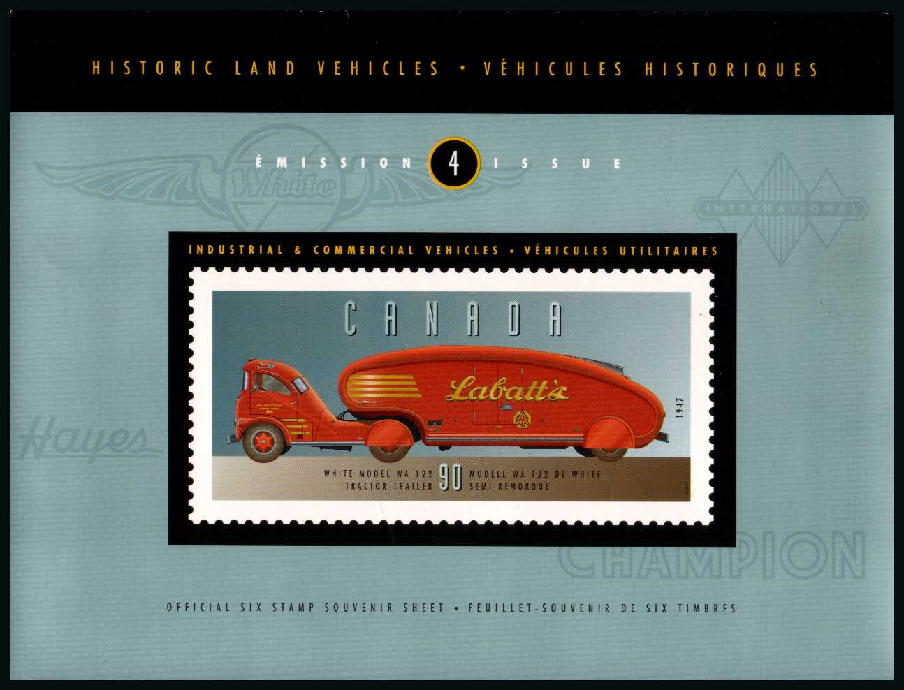 Historic Land Vehicles - Issue 4 - Presentation Pack