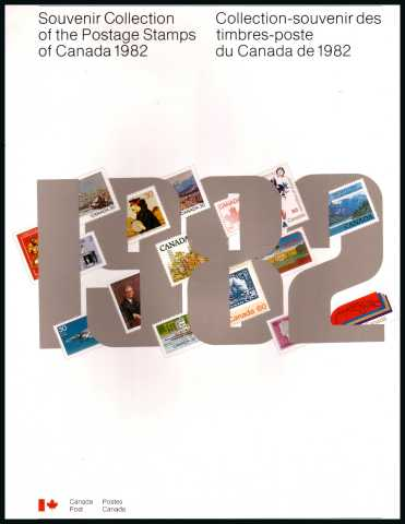 The 1982 Year Collection in a soft cover book. 215mm x 280mm