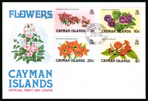 Flowers - Second Series official First Day Cover<br/>Please note that this is priced on the value of the used stamps <br/> with no special premium because its a FDC. <br/>SG Cat for the stamps �50