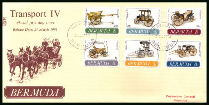 Transport - 4th Series<br/>A superb unaddressed illustrated First Day Cover offered at the value of the used stamps alone.