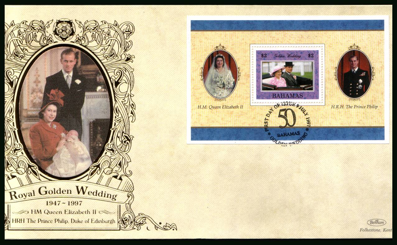 Royal Golden Wedding minisheet<br/>