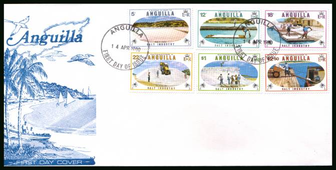 Salt Industry<br/>on an unaddressed First Day Cover