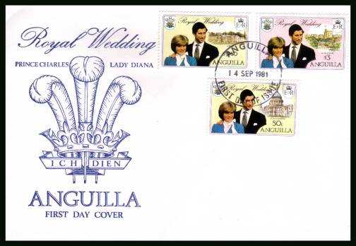 Royal Wedding<br/>on an unaddressed First Day Cover