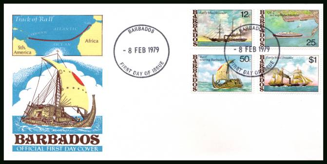 Ships<br/>on an unaddressed official First Day Cover