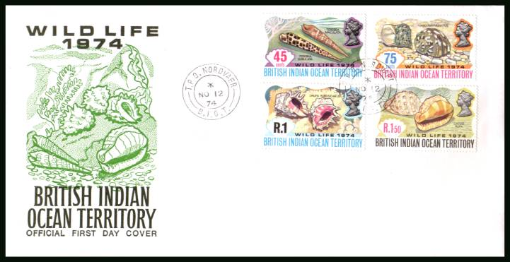 Wildlife - 2nd Series<br/>cancelled with a T.P.O. NORDVAER steel CDS on an illustrated First Day Cover