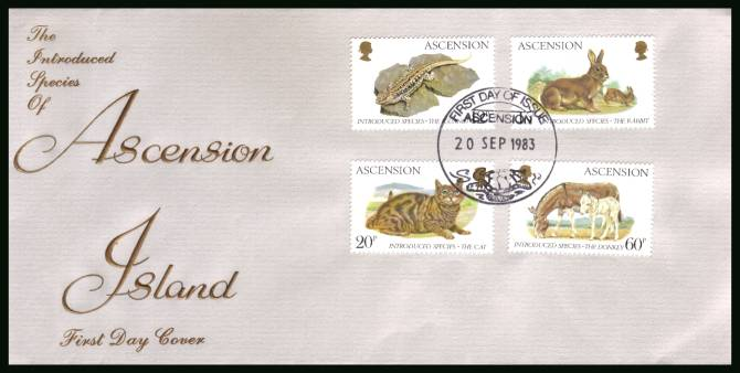 Introduced Species<br/>on an official unaddressed official First Day Cover
