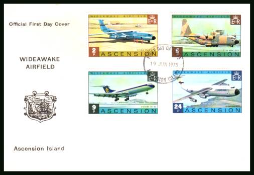 Wideawake Airfield<br/>on an official unaddressed official First Day Cover