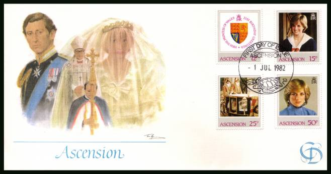21st Birthday of Princess of Wales<br/>on a Fleetwood unaddressed  First Day Cover