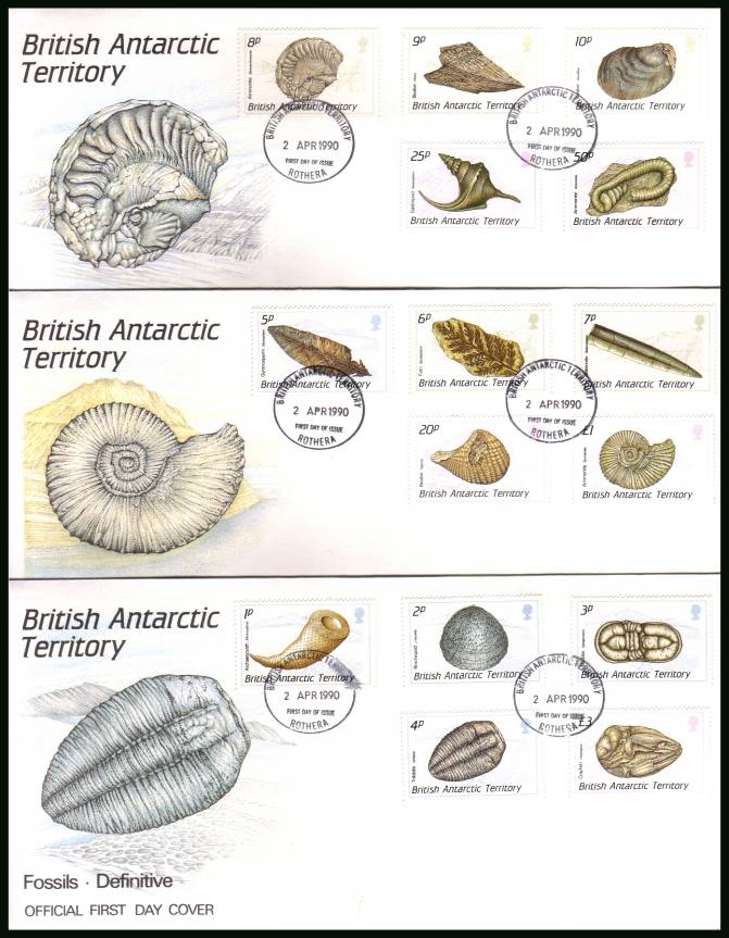 The Fossils definitive set of fifteen