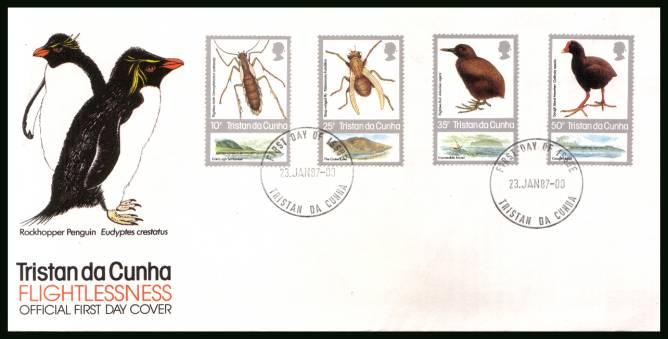 Insects and Birds <br/>on an official unaddressed First Day Cover