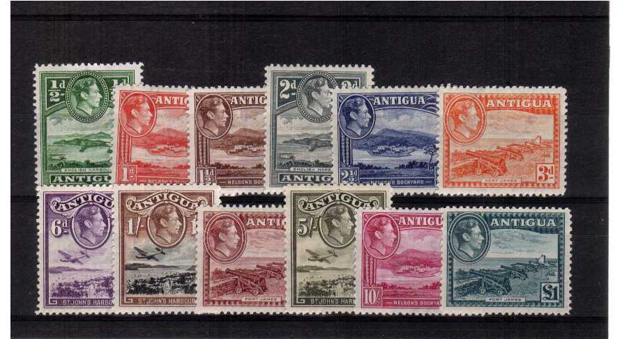 An average bright and fresh mounted mint set of twelve.<br/>SG Cat £130<br/><b>QQJ</b>