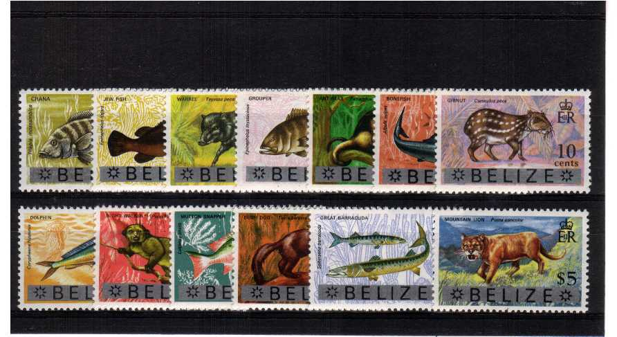 A superb unmounted mint set of thirteen.<br/><b>ZQH</b>