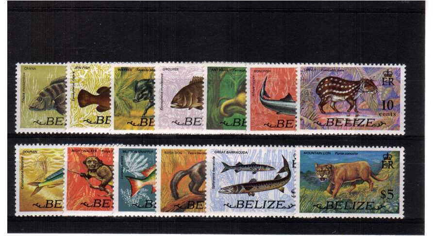 A superb unmounted mint set of thirteen<br/><b>QQZ</b>