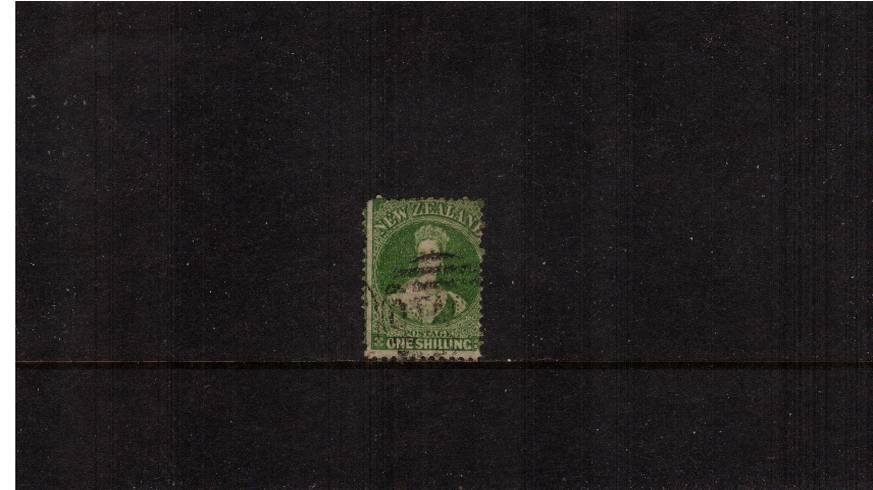 1/- Deep Green - Watermark Large Star - Perforation 12�br/>
