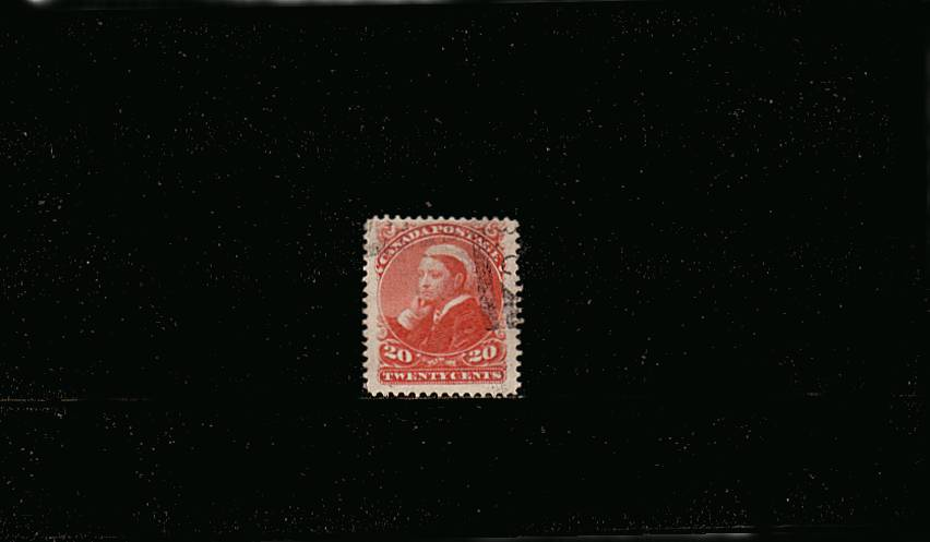 20c Vermilion<br/>